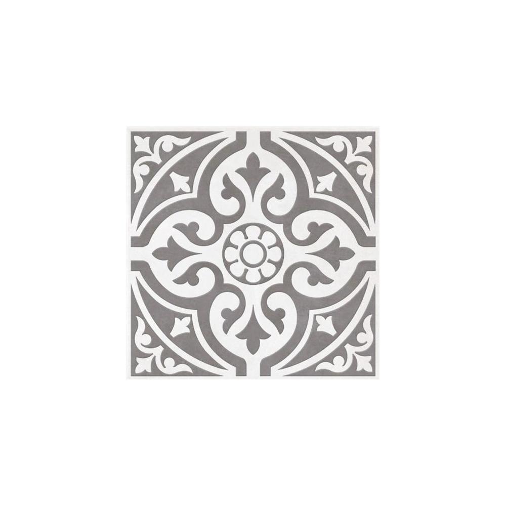 British Ceramic Tile Devonstone Grey Feature 33 1cm X 33