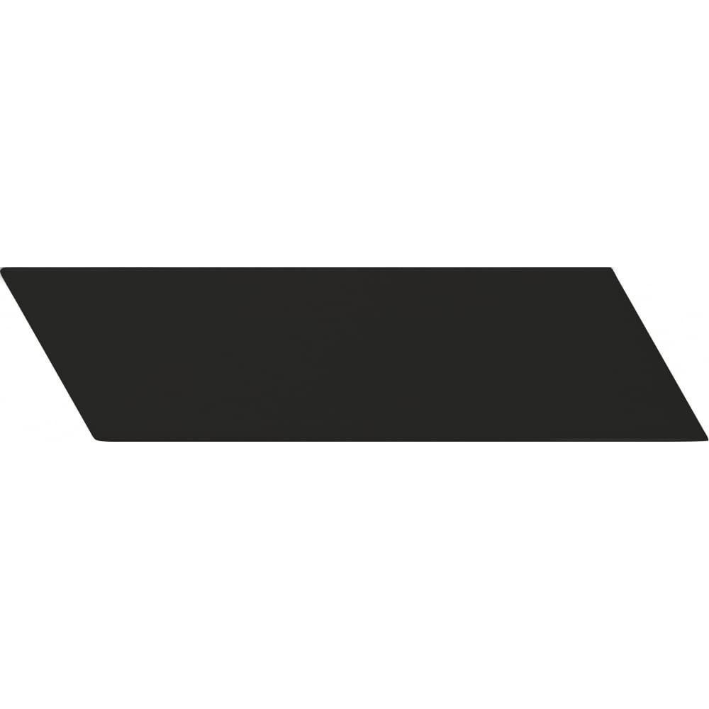 da217a50668 Chevron Black Matt Right 18.6 x 5.2cm Wall Tile PER BOX - Wall Tiles from  Dantotsu UK