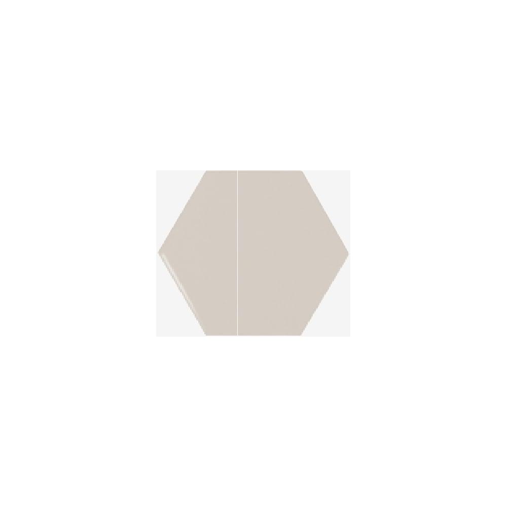 b07098d9425 Chevron Hexagon Greige 12.4cm x 10.7cm Wall Tile PER BOX - Wall Tiles from  Dantotsu UK