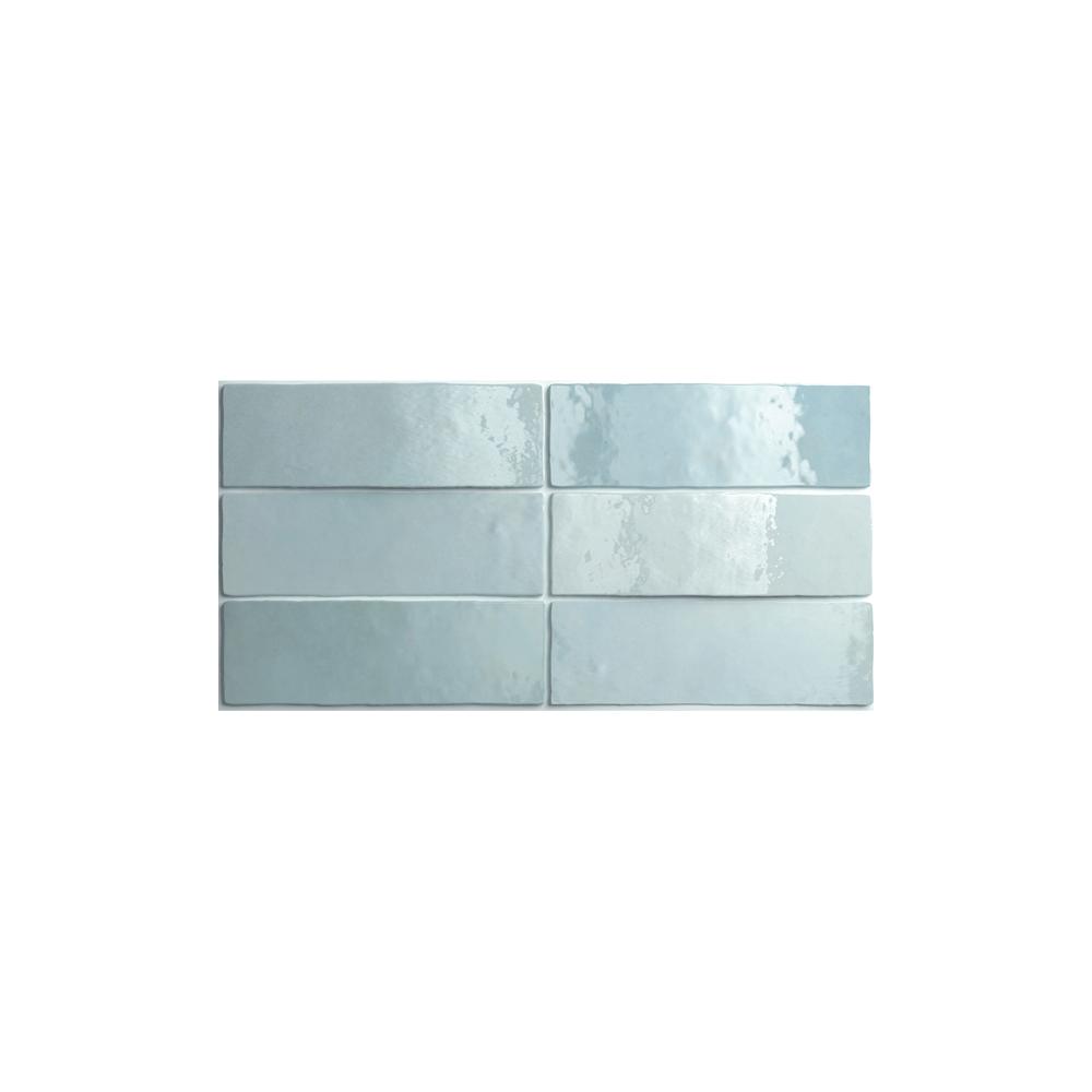 Equipe Artisan Aqua 6.5cm x 20cm Wall Tile - Wall Tiles from Dantotsu UK