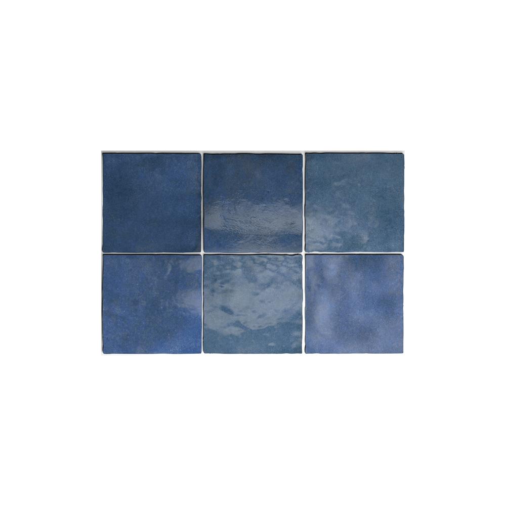 Equipe Artisan Colonial Blue 13.2cm x 13.2cm Wall Tile - Wall Tiles ...