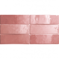 Artisan Rose Mallow 6.5cm x 20cm Wall Tile