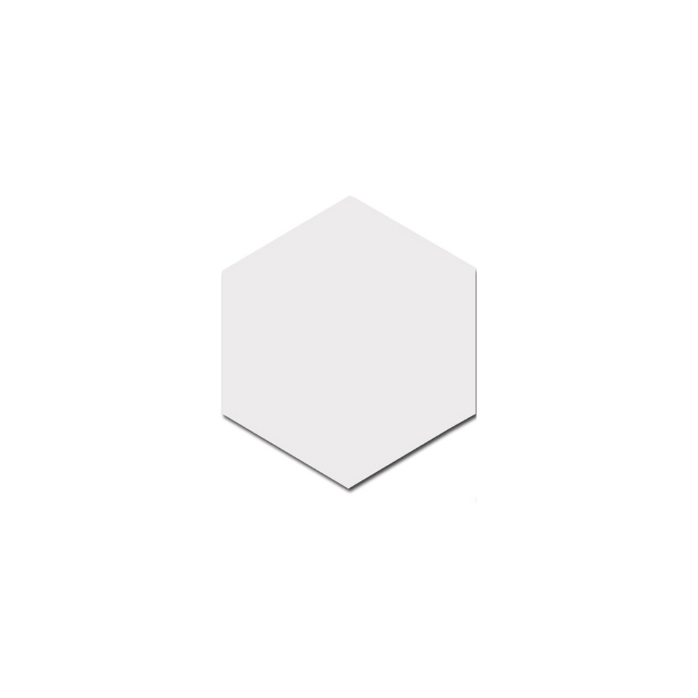 Hexagon Matt White 17 5cm X 20cm Wall Floor Tile Wall Tiles From