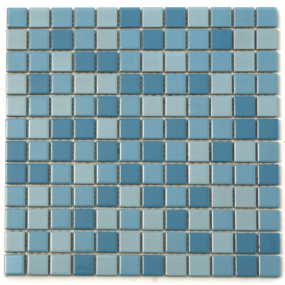 Mediterranean Swimming Pool 30cm x 30cm Mosaic Tile
