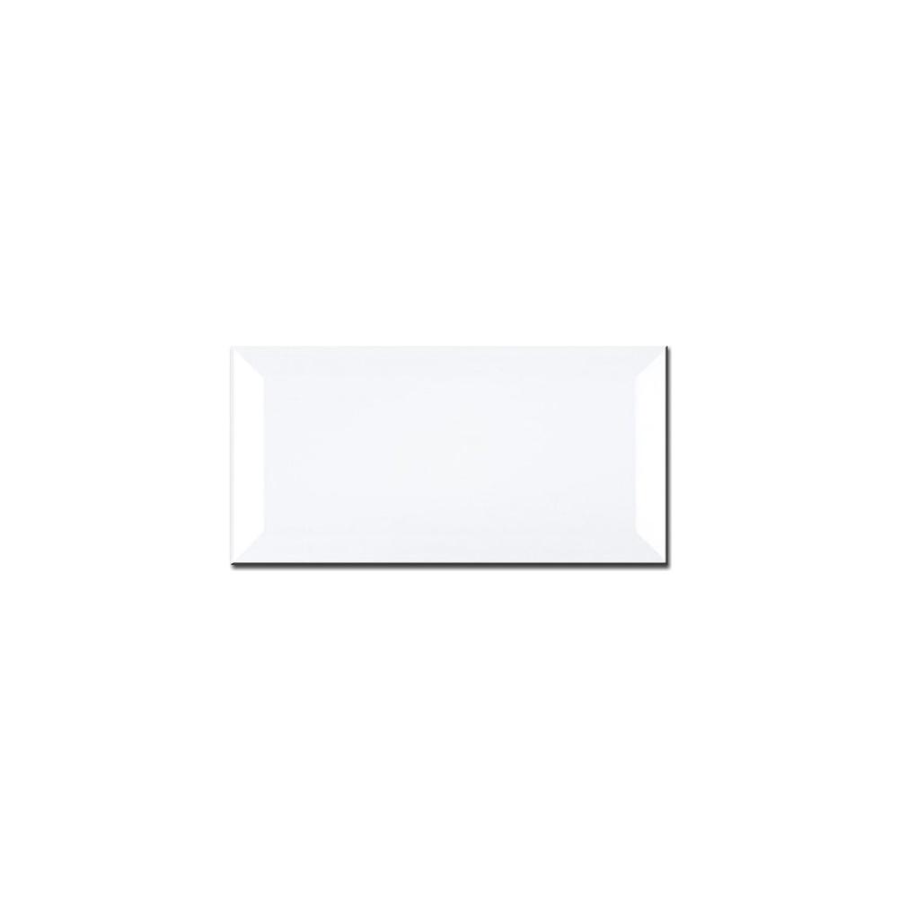 Metro Brick Gloss White 10cm x 20cm Wall Tile - SALE from Dantotsu UK