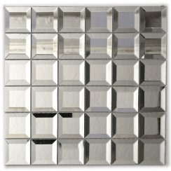 5cm X 5cm Glass Mirror Tiles