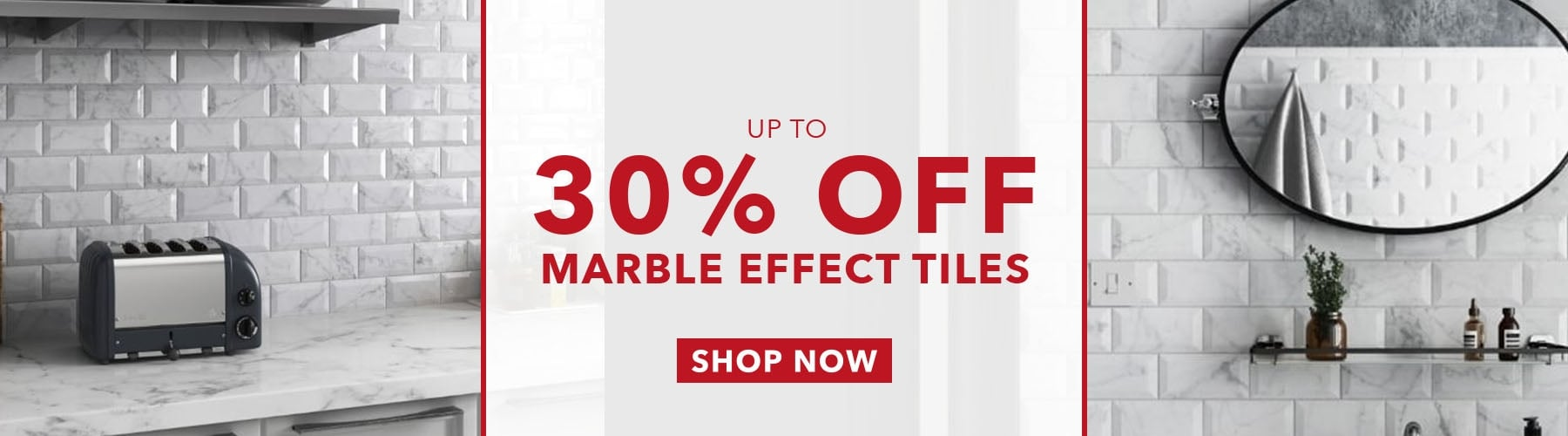 Marble Effect Banner