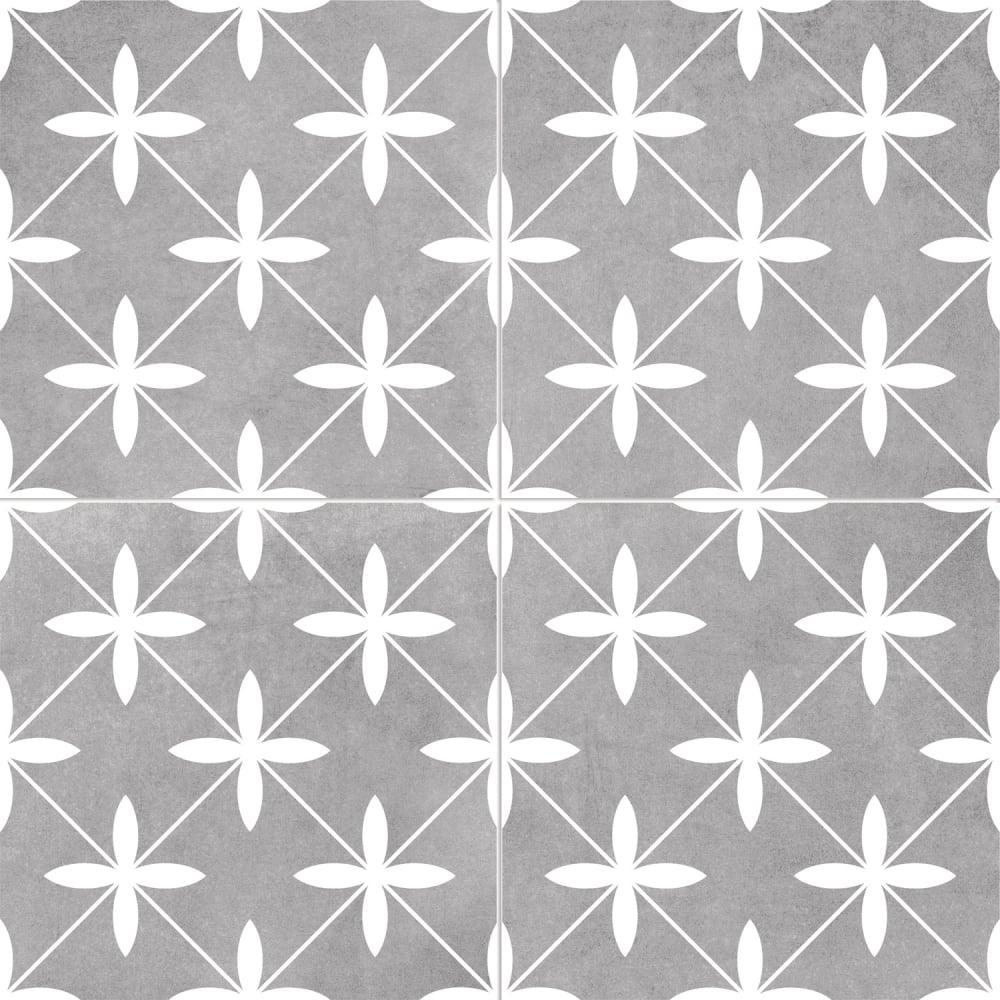 Oakwell Grey 45cm x 45cm Wall & Floor Tile - Wall Tiles from Dantotsu UK