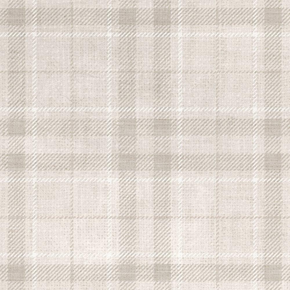 Set Tartan White 30cm x 60cm Wall & Floor Tile - Wall Tiles from ...